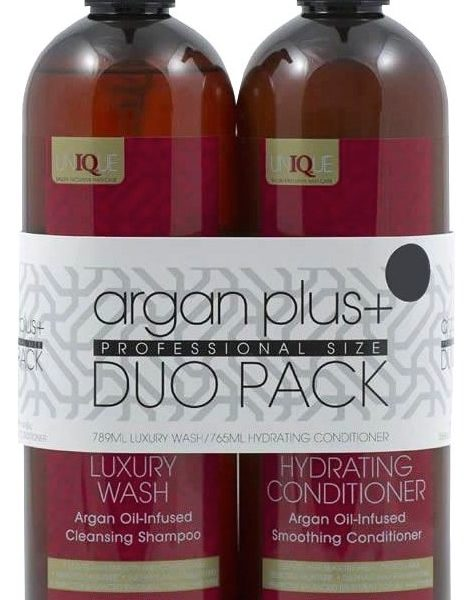 Argan Plus+ Shampoo & Conditioner Duo Professional Size